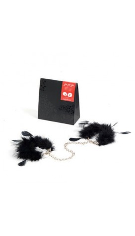 Feather Handcuffs For Soft Bondage Games