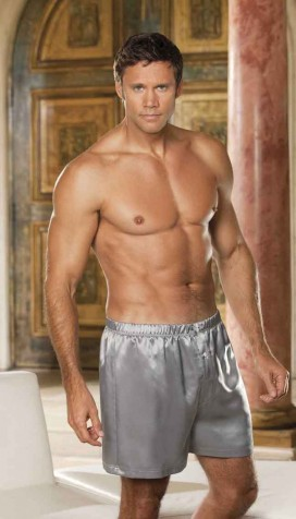 SOFT CHARMEUSE BOXERS