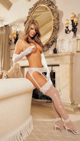 WEDDING BELL SHEER STOCKINGS