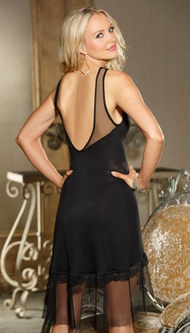 SO COMFORTABLE YET SO SEXY! OUR RAYON JERSEY KNIT BALLERINA GOWN
